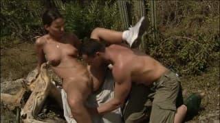 Аматорский уличный секс