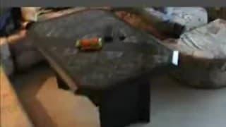 Любительская киска с пирсингом