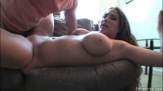 Любительское видео с порнозвездой Алана Рэй