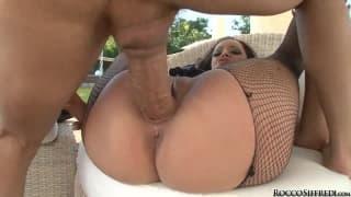 Большая оргия с порнозвездами
