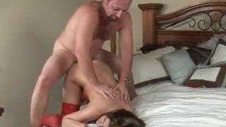 Остин Кинсайд в сексуальном красном белье!