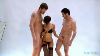 Жасмин Арабия - секс с двумя парнями