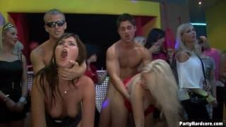Партия очень горячего секса