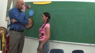 Канди Милан- трах с учителем
