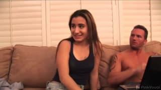 София Молодые сосать грудь, трахая
