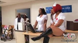 WCP CLUB - три чёрные распутные медсестры