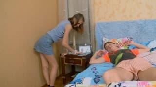 Занна получает трах в свою плотную задницу