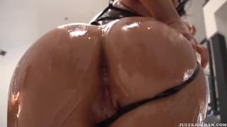Аппетитная сексуальная сцена с Аса Акирой