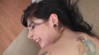 Джоанна очень любит секс в попку
