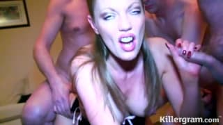 Порно видео жестких оргии