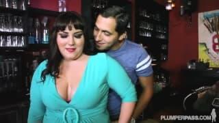 Сексуальная толстуха Джейд Роуз любит ебаться