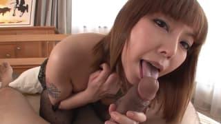 Минами Китагава - аппетитная азиатка