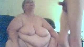 Этот жирная старушка жаждет секса
