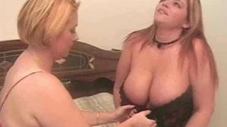 Саманта и Иден в горячей сексуальной тройке