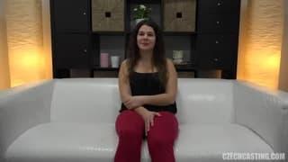 Кристина хочет насладиться порно кастингом