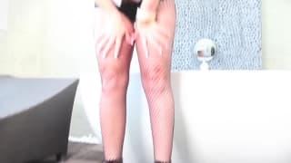 Сексуальная Кейт Фрост в горячей групповухе