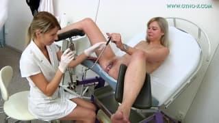 Очень приятная гинекологическая ревизия
