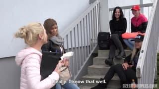 Чешские девушки любят хорошо трахаться